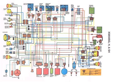 1979 Xs650 Electronic Ignition Wiring Diagram wrg 6242 xs650 wiring diagram for 1979