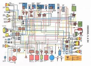 Yamaha Xs650 Wiring Diagram Schematic