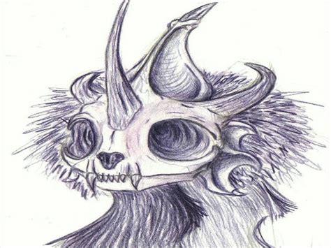 skulls drawings  premium templates