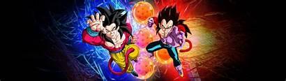 Monitor Dual Bg Dbz Wallpapers Dbgt Goku