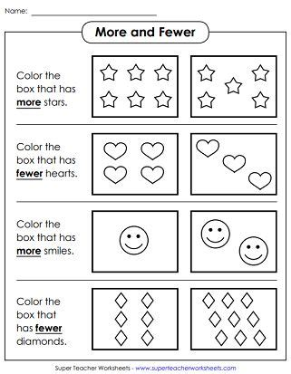 counting    worksheets    images