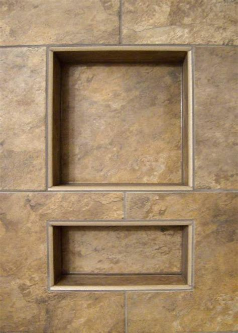 Bathroom Niche Sizes by Shower Niche Sous Sol Pinterest