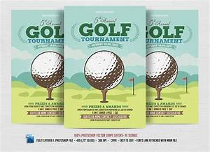 15 sports event flyers design trends premium psd With golf tournament program template