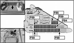 Bmw 6 Series  E63  E64   2004 - 2010  - Fuse Box Diagram