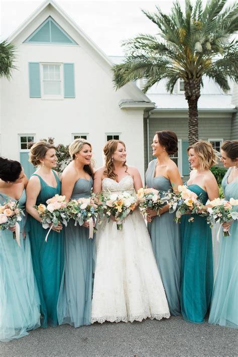 turquoise coastal inspired wedding  atlantic beach