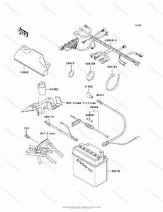 Kawasaki Atv 2002 Oem Parts Diagram For Chassis Electrical