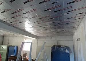 Isoler Sous Sol : isolation thermique plafond cave entreprise isolation toiture oeufenpoudre ~ Melissatoandfro.com Idées de Décoration