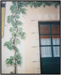 Mur Trompe L Oeil : un mur peint peinture trompe l 39 oeil ~ Melissatoandfro.com Idées de Décoration