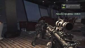 Getting The Call Of Duty  Modern Warfare 3 Platinum Trophy