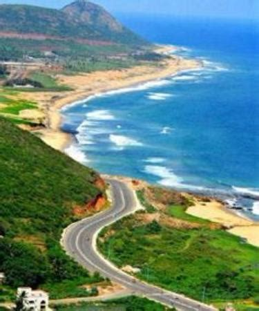 Beach Road All The Way On Way To Madhurawada Picture