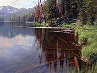 Crystal Clear Lake Wyoming