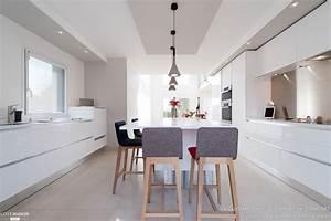 amenagement cuisine salle a manger salon bureau design With charming couleur chaleureuse pour salon 1 dilemme deco saloncuisine ouverte