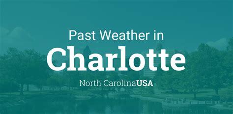 weather  charlotte north carolina usa yesterday