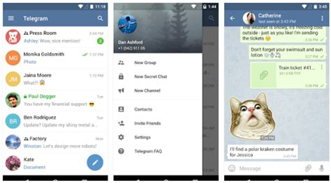 telegram apk 3 10 0 android aplikasi kirim pesan cepat apk versi terbaru dewandroid