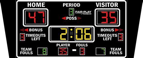 Bb18504  Fairplay Scoreboards