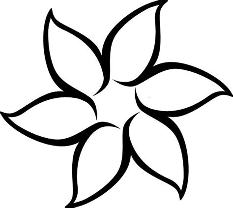 sunflower petals clipart outline clipground