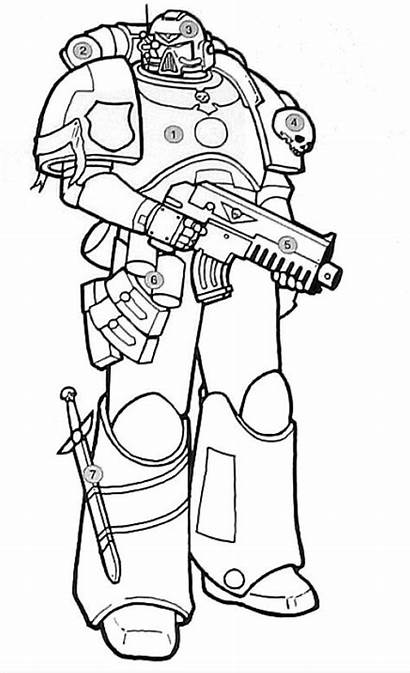 Marine Servoarmadura Warhammer 40k Astartes Wikia Espacial