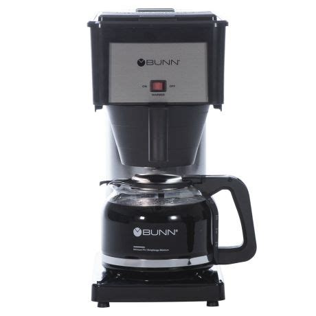 We brewed over 441 cups to measure water temperature and cycle length, the two most important factors in. BUNN (BXB) 10-Cup Speed Brew Coffee Maker Reviews, Problems & Guides