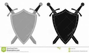 Shield clipart steel shield - Pencil and in color shield ...
