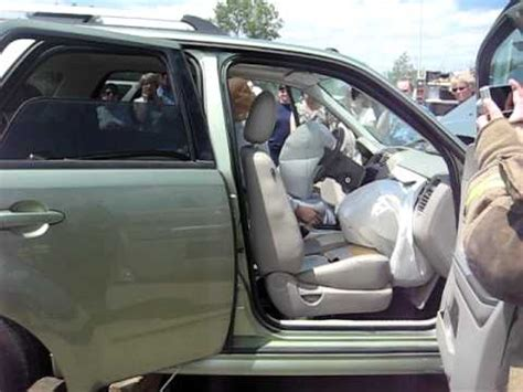 ford escape passenger seat airbag deployed ron moore
