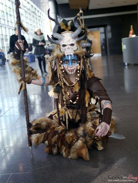 Voodoo Witch Doctor Cosplay