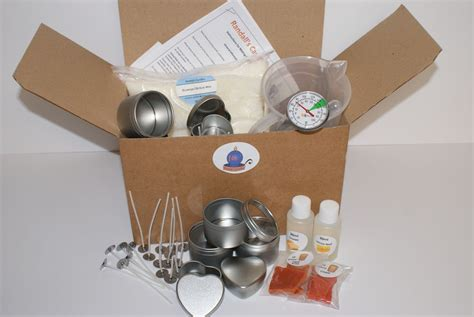 complete beginners candle making kit  beautiful