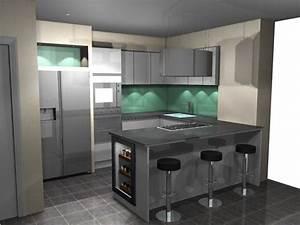 cuisine decoration idee de plan de travail pour cuisine With idee de cuisine facile