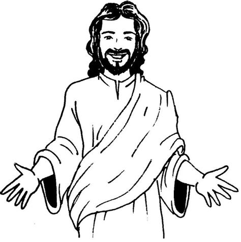 face jesus colouring pages kids sunday school ideas