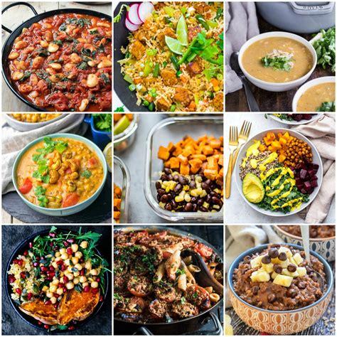 delicious vegan meal prep recipes breakfast lunch