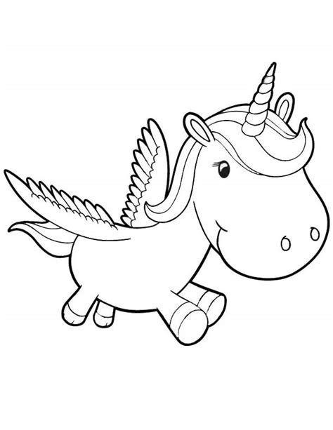 Coloring Unicorn Pages by Unicorn Coloring Pages To And Print For Free