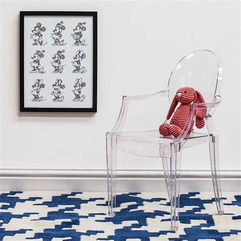 ghost sedia lou lou ghost sedia kartell di design per bambini
