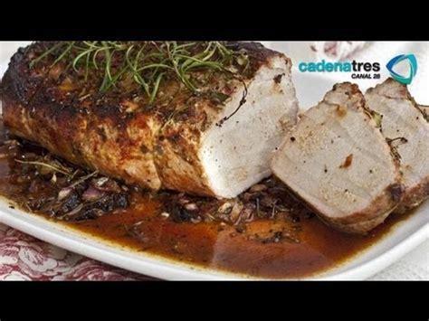 receta de como preparar lomo de cerdo  la hierbas receta