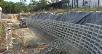 retaining solutions precast concrete crib retaining walls