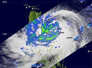 NASA's Aqua Satellite sees Tropical Storm Parma lingering ...