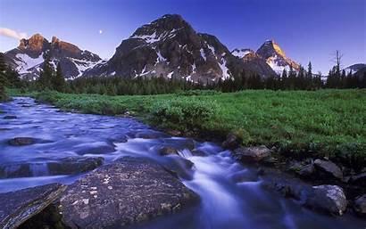 Desktop Mountain Wallpapers River Nature Mountains Windows