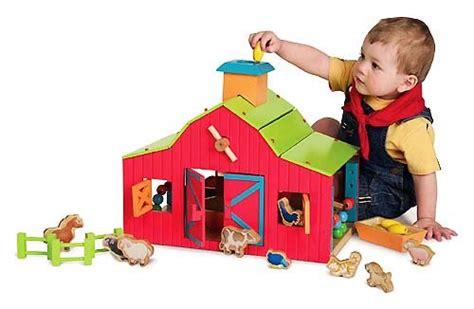Brand New Parents Magazine Wooden Barn Yard