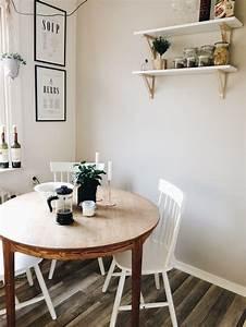 Küchentisch Mit Stühle : k chentisch aus naturholz mit wei en st hlen living pinterest k chentische naturholz und ~ Markanthonyermac.com Haus und Dekorationen