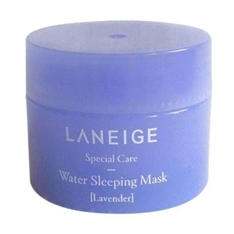 jual laneige lavender water sleeping mask mini version 15