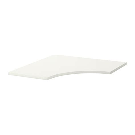 plateau bureau angle linnmon plateau de table angle blanc ikea