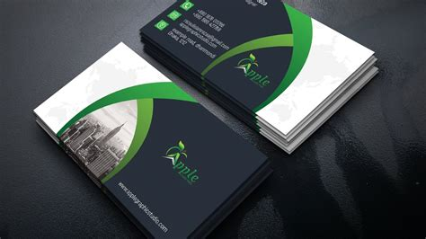 professional business card design photoshop tutorial