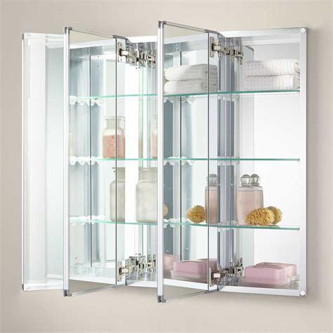 "36"" Longview Recessed Mount Medicine Cabinet   Bathroom"