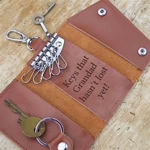 personalised, leather, key, holder, by, jonny, u0026, 39, s, sister
