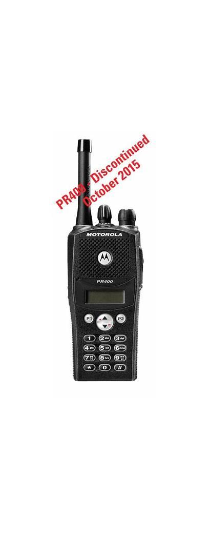 Motorola Radio Pr400 Way Portable Digital Discontinued