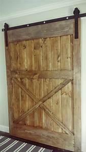 ana white diy sliding barn door diy projects With barn door blueprints
