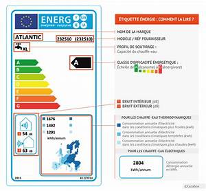 Classe Energie G : chauffe eau comprendre l 39 tiquette nergie cazamag ~ Medecine-chirurgie-esthetiques.com Avis de Voitures