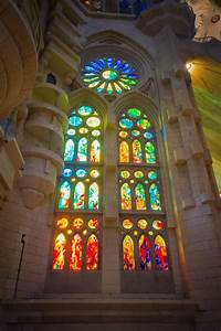 sagrada familia review stained glass inside - Travels of ...