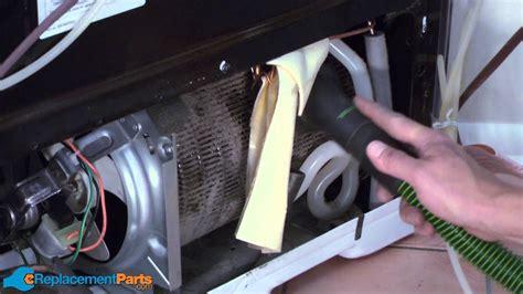 clean  condenser coil   refrigerator youtube