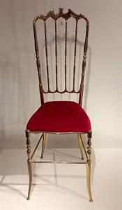 Mid Century Stuhl : mid century messing stuhl mit hoher r ckenlehne bei pamono ~ Michelbontemps.com Haus und Dekorationen