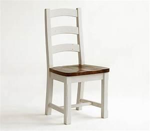 Stuhl Vintage Weiß : stuhl 47x108x47cm recycling kiefer massiv 2farbig wei ~ Pilothousefishingboats.com Haus und Dekorationen