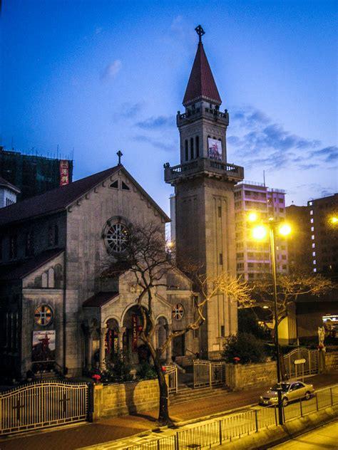 st teresa kowloon hong kong stepping  church    time